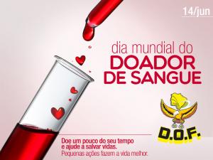 Dia mundial do Doador de Sangue...